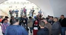 معسكر المتجول الشبابي الاول يزور محافظة سلفيت