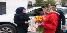 اعلاميون يكرمون منتسبات الشرطة بمناسبة عيد الام في بيت لحم