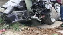 حادث سير ذاتي في أريحا يوقع اصابة واحدة