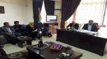 مديرية الحكم المحلي تشارك بنشاط بلدية حبلة وطاقم شؤون المرأة