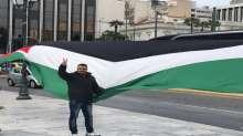تجمع الشباب الفلسطيني باليونان ينظم اعتصاما تضامناً مع اسرى الحرية