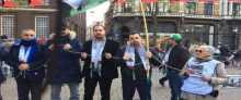 الجالية الفلسطينية بهولندا تنظم فعاليات تضامنية مع الأسرى المضربين