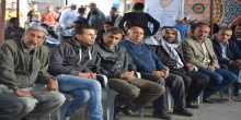 حركة فتح في يطا تنظم فعالية تضامنية مع الأسرى المضربين