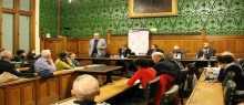 مركز العودة يبحث قضية القدس بالبرلمان البريطاني