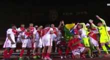 ريال مدريد على بعد نقطة من لقب الليغا
