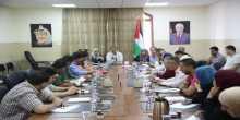 النائب المحافظ يترأس الاجتماع التحضيري لحملة طولكرم الخير(3)