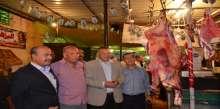 محافظة الاسماعيلية تفقد المعرض الدائم بنادى المنتزه للسلع الغذائية