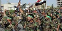 """""""الحشد الشعبي"""" العراقي يصل إلى الحدود السورية"""