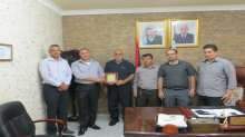 المدرسة الصناعية تكرّم مدير مديرية شرطة محافظة قلقيلية