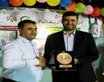 المستشفى الميداني الأردني يكرم جمعية الوئام الخيرية