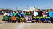 رفح تختتم البطولة الرمضانية لكرة القدم للساحات الشعبية