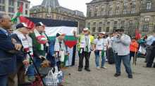 الجالية الفلسطينية بهولندا تنظم اعتصاماً رفضاً للانتهاكات الإسرائيلية