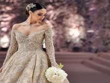فساتين زفاف 2017 أفخمها من تصميم زهير مراد