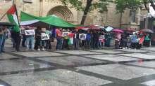 بمدينة دورتموند الألمانية وقفة إحتجاجية نصرة للقدس والأقصى وفلسطين
