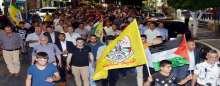 """""""فتح """" تنظم مسيرة نصرة للأقصى في سلفيت"""