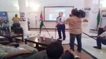 سفارة فلسطين بالجزائر تنظم وقفة تضامنية مع أهلنا المرابطين بالقدس