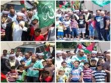 مسيرات ووقفات نصرة للمسجد الأقصى في مخيمات لبنان