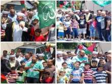 مخيمات لبنان تنظم مسيرات نصرة للمسجد الأقصى