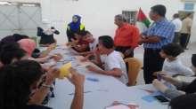 فعاليات اليوم السادس لمخيم طلائع الأقصى الصيفي
