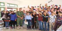 الفريق الوطني للتعداد بمحافظة سلفيت ينفذ جولة للمخيمات الصيفية