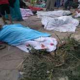 شاهد حادث التصادم الذي وقع بين قطارين قرب الإسكندرية