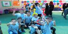 """مدرسة نور القدس تختتم المخيم الصيفي""""أنا مقدسي 4""""برأس العامود بالقدس"""