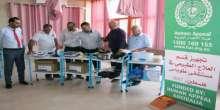 لجنة زكاة طوباس تسلم الدفعة الأولى من الأجهزة الطبية