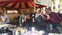 سفارة فلسطين بهولندا تشارك في مهرجان السفارات السنوي
