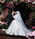 ميراندا كير: فستان زفاف خلاب للمحجبات