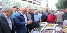 نابلس تستضيف اليوم التسويقي للعنب الفلسطيني ومنتجاته