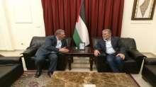 دبور يلتقي نائب الامين العام لحركة الجهاد الاسلامي