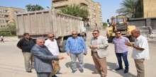 السكرتير العام والمساعد لمحافظة الاسماعيلية يتابعان حملة النظافة والتطوير بأماكن المدارس