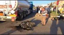 حادث سير مروع في أنطاليا