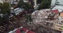 تصوير جوي يوثق مدى الدمار في مكسيكو