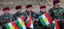 الأكراد في أربيل يحتفلون بعد انتهاء التصويت في الاستفتاء
