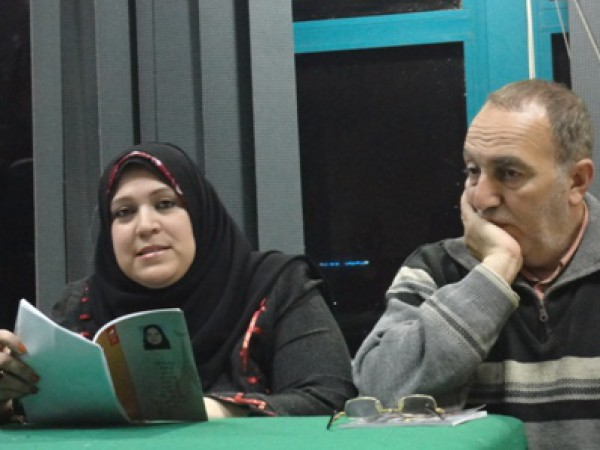 """ديوان """"حبنا قامت صلاته"""" لـ رشا الفوال بنادي أدب قصر ثقافة المنصورة"""