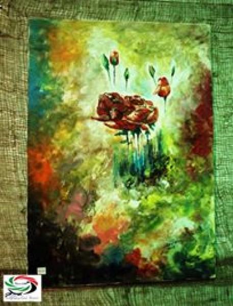 عناقيد الفرح والفنانة التشكيلية داليا أبو هنطش  بقلم: زياد جيوسي