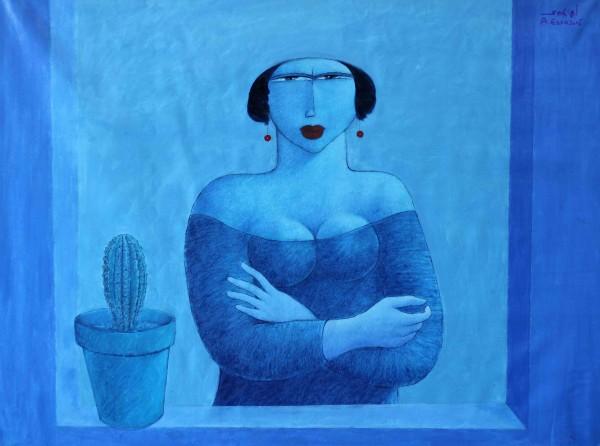 أعمال الفنان الفلسطيني أيمن عيسى في جاليري رؤى32 إعتباراً من التاسع من شباط