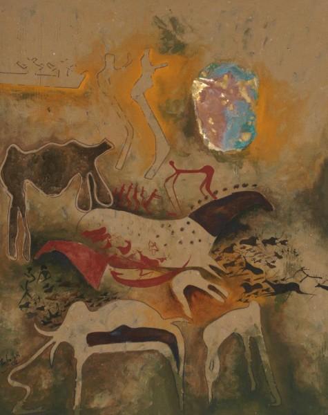 معرض الفنانين مبارك عمان ومحمد السنوسي بأغادير المغرب