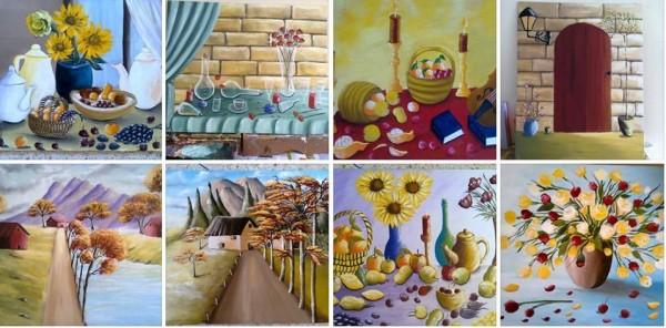 أسماء السويدي: طموحي..أن تصل أحاسيسي من خلال لوحاتي إلى عموم عشاق الفن التشكيلي