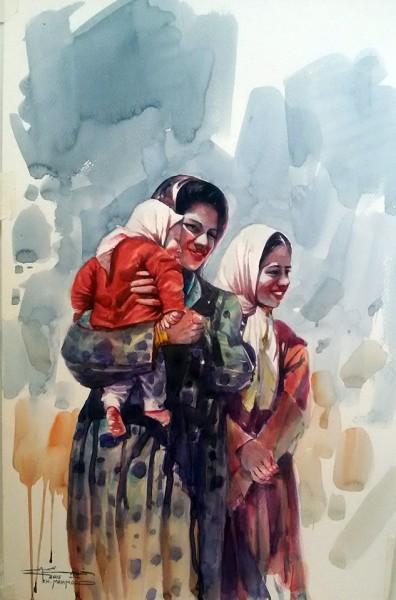 فضاءات سردية في أعمال فنانَيْن عراقييَّن معرض مشترك في برلين