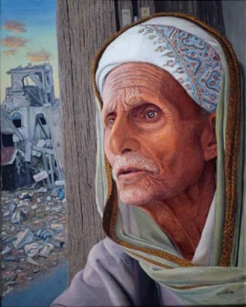 الفنان التشكيلي المحمدي يَضَع اليمن في المُقدمِة