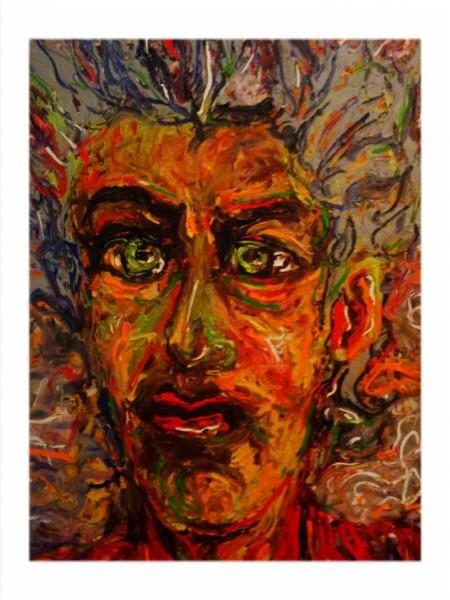 الفنان التشكيلي العالمي بسام الحجلي يتمرد على اللوحة