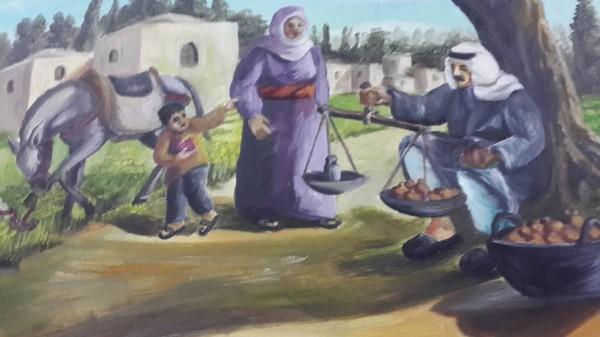 """اختتام معرض الفن التشكيلي """" همسات وطن """" للفنان مراد دروبي"""
