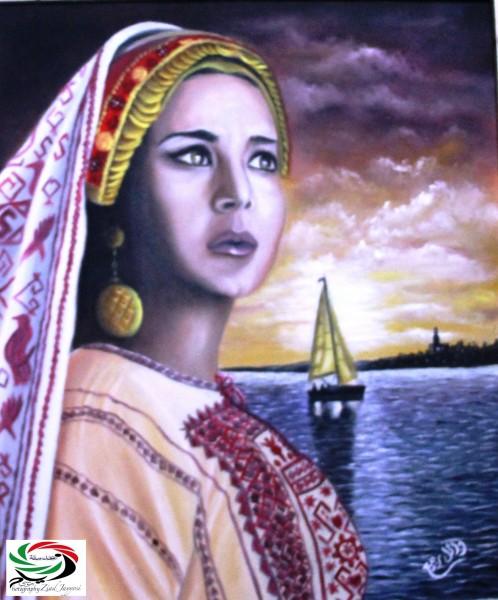 الفنان وائل ربيع والوطن بألوان خلف الجدران