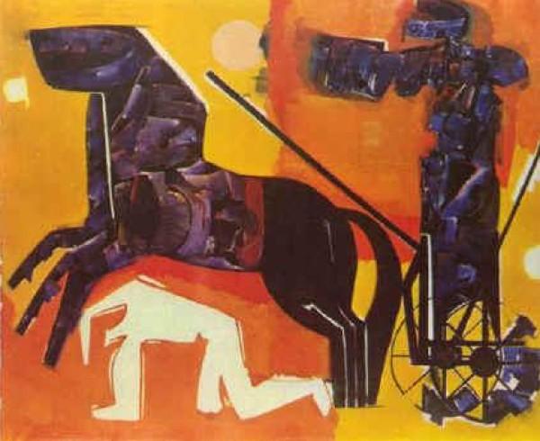 تشكيليون في الذاكرة  محمود صبري بين التنظير والرسم