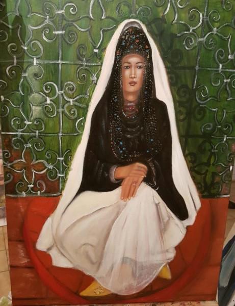 السرغينية نعيمة السبتي: الفن تعبير عن الذات واللوحة مثل الطبيب النفسي