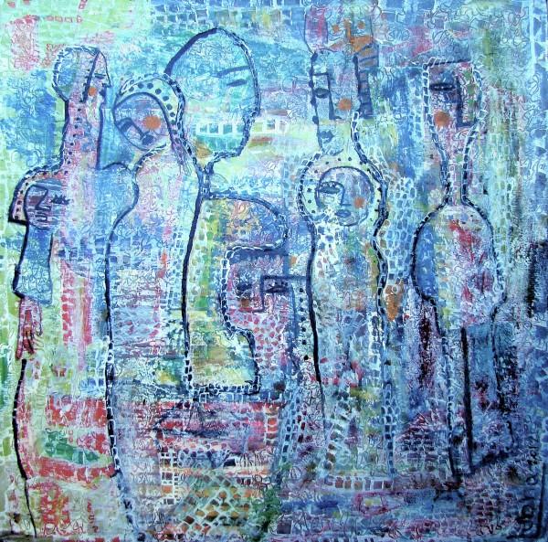 مصلوبة على جبين الشمس بقلم:لبنى ياسين