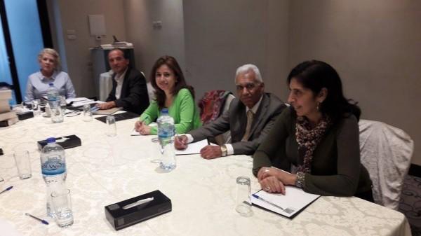 فرع فلسطين للرابطة الدولية للقلم يستقبل رئاسة الرابطة الدولي
