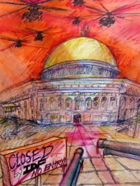 التشكيلية سوزان كلوتز تراكمات الألوان وعمق الرموز جدليات المعاني البصرية في التعبير عن القضية الفلسطينية